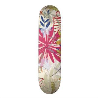 Floral background 6 skateboard