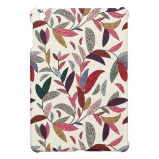 Floral background cover for the iPad mini