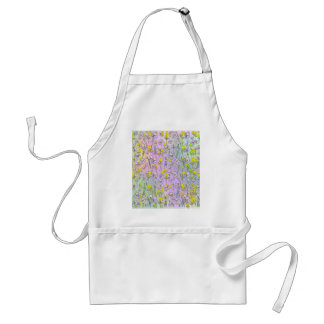 Floral Background from The Fairy Nekos of Spring D Adult Apron
