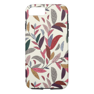 Floral background iPhone 8/7 case