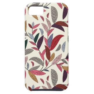 Floral background iPhone SE/5/5s case