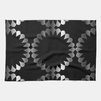 Floral background kitchen towels