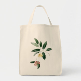 Floral Bag, red and yellow flower