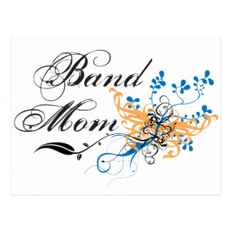 Floral Band Mom Postcard