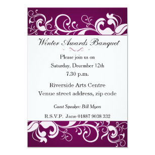 Sports Banquet Invitations Announcements Zazzle