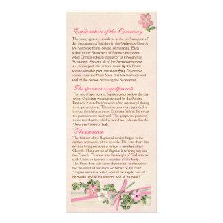 Floral Baptismal Program 2/5