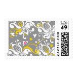 Floral Baroque Stamp