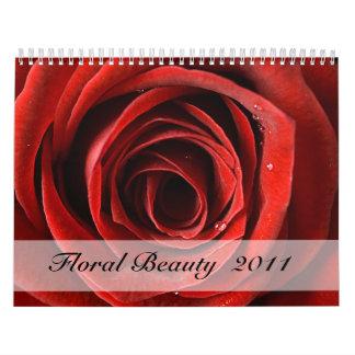 Floral Beauty  Calendar 2011