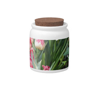 Floral Beauty Candy Jars