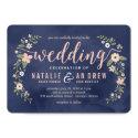 Floral Beauty Editable Color Wedding Invitation (<em>$2.10</em>)