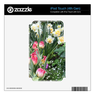 Floral Beauty Skin For iPod Touch 4G