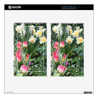 Floral Beauty Skin For Kindle Fire