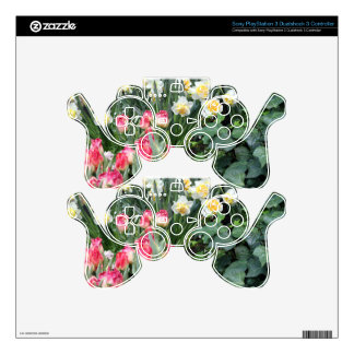 Floral Beauty Skin For PS3 Controller