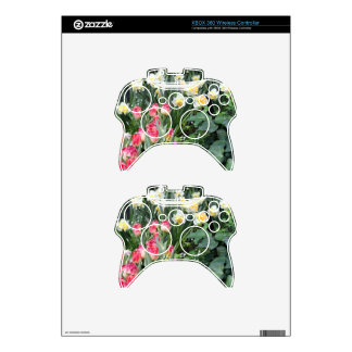 Floral Beauty Xbox 360 Controller Skin