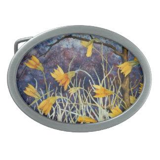 "Floral Belt Buckle ""Big Ditch Lillys"""