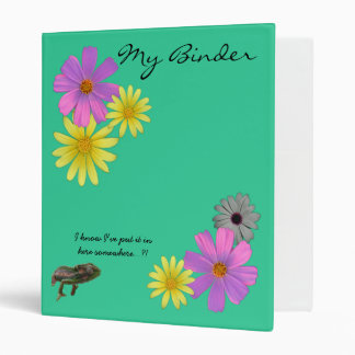 Floral Binder