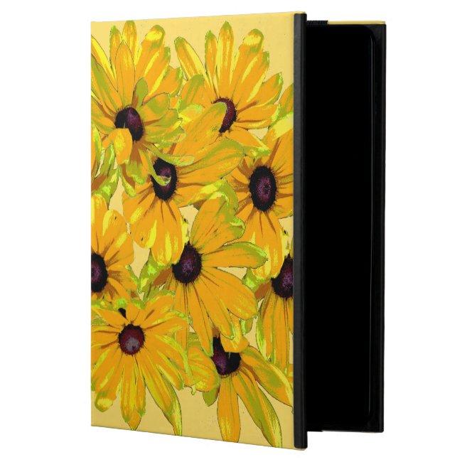Floral Black Eyed Susan Flowers iPad Air 2 Case