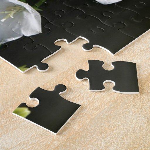 Floral blanco hermoso puzzles con fotos