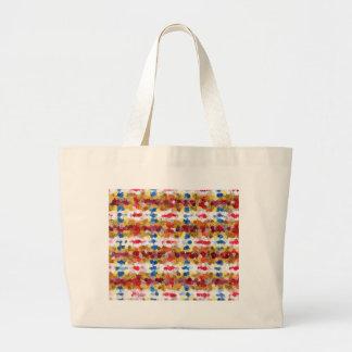 floral blanket large tote bag