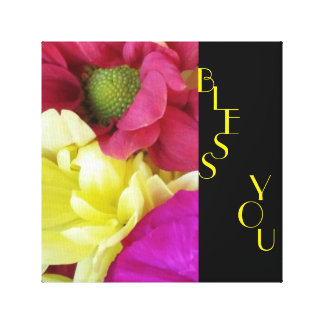 FLORAL BLESSINGS CANVAS PRINT