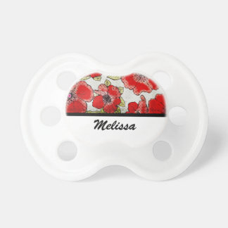 Floral Bliss BooginHead Pacifier
