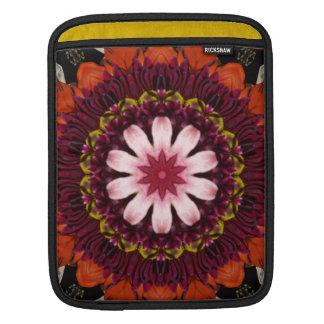 Floral Bloom Kaleidoscope iPad Sleeve