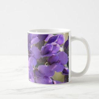 Floral Blooming Lilac Flowers, purple green Coffee Mug