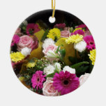 Floral Blooms Christmas Tree Ornament