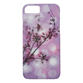 Floral blossom spring sparkle pattern iPhone 7 cas iPhone 7 Case