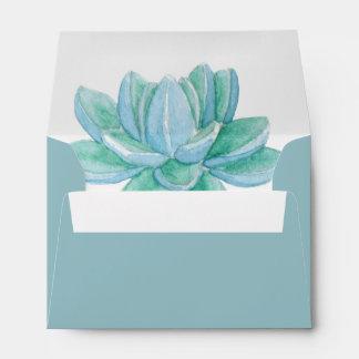 Floral Blossom Wedding A6 envelope