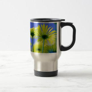Floral Blossoms Destiny Elegant Whimsical Fresh Coffee Mugs