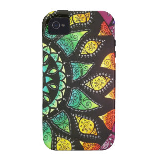 Floral Boho Iphone 4 Case-Mate iPhone 4 Covers