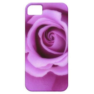 Floral bonito rosado púrpura de la lavanda color d iPhone 5 coberturas
