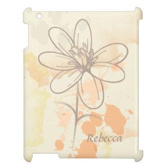 Floral bosquejada personalizada en la acuarela