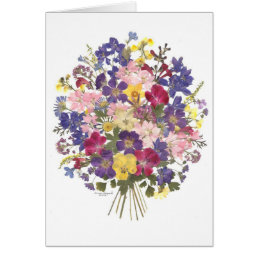 floral bouquet all occasion card