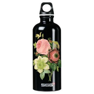 Floral Bouquet Aluminum Water Bottle