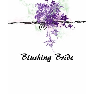 Floral Bouquet - Blushing Bride - Women's T Shirt shirt