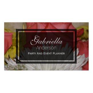 Floral Bouquet Business Cards