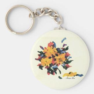 Floral Bouquet Keychain