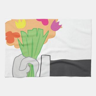 Floral Bouquet Kitchen Towel