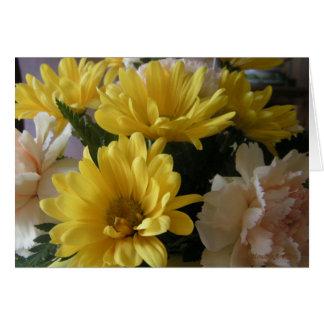 Floral Bouquet Large Font Easter Card