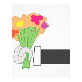 Floral Bouquet Letterhead