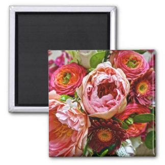Floral bouquet, Magnet