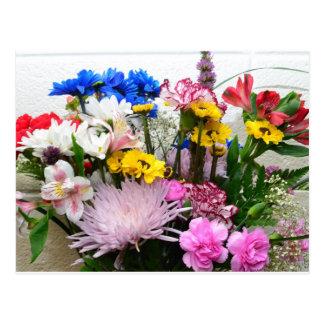 Floral Bouquet NoteCard Postcard