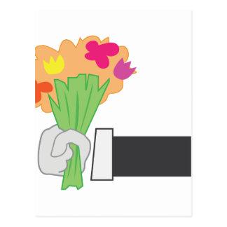 Floral Bouquet Postcard