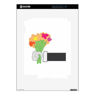 Floral Bouquet Skin For The iPad 2