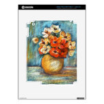 Floral Bouquet Skins Decals For iPad 3