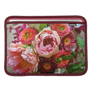 Floral bouquet sleeve for MacBook air