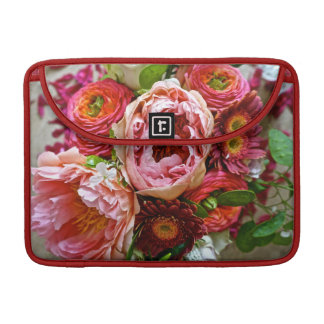 Floral bouquet sleeve for MacBook pro