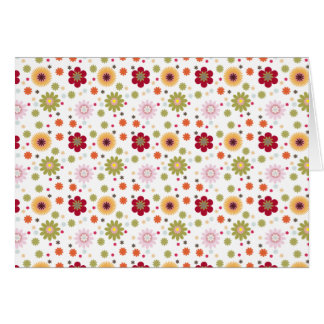 Floral Bouquet Variety Note Cards Blank Inside